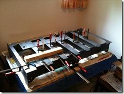 CNC Fräse Tisch